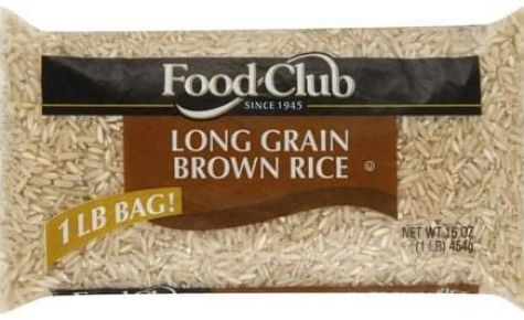 Withdrawal on Food Club white & Brown Long Grain Rice