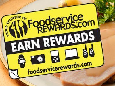 Start Earn Foodservice Rewards!